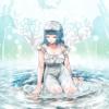 「目を閉じれば」波に手を触れながら海底の生き物たちに想いを馳せる少女